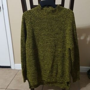 Young man's sweater